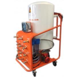 Unité de chauffage et filtration pour 2 douches AQUARUS 300 2D
