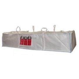 DEPOT BAG 1T marqué Amiante 310x110x30 cm