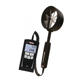 Thermo-Anémomètre KIMO à hélice Ø 70 mm portable (0 à 35 m/s) res 0.1