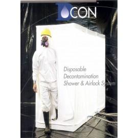 SAS DE DECONTAMINATION JETABLE DCON 3 (BACHE PLASTIQUE)