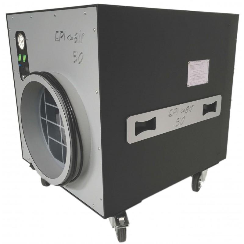 Extracteur d air a filtration the epi air 50 for Extracteur d air hygrometrique
