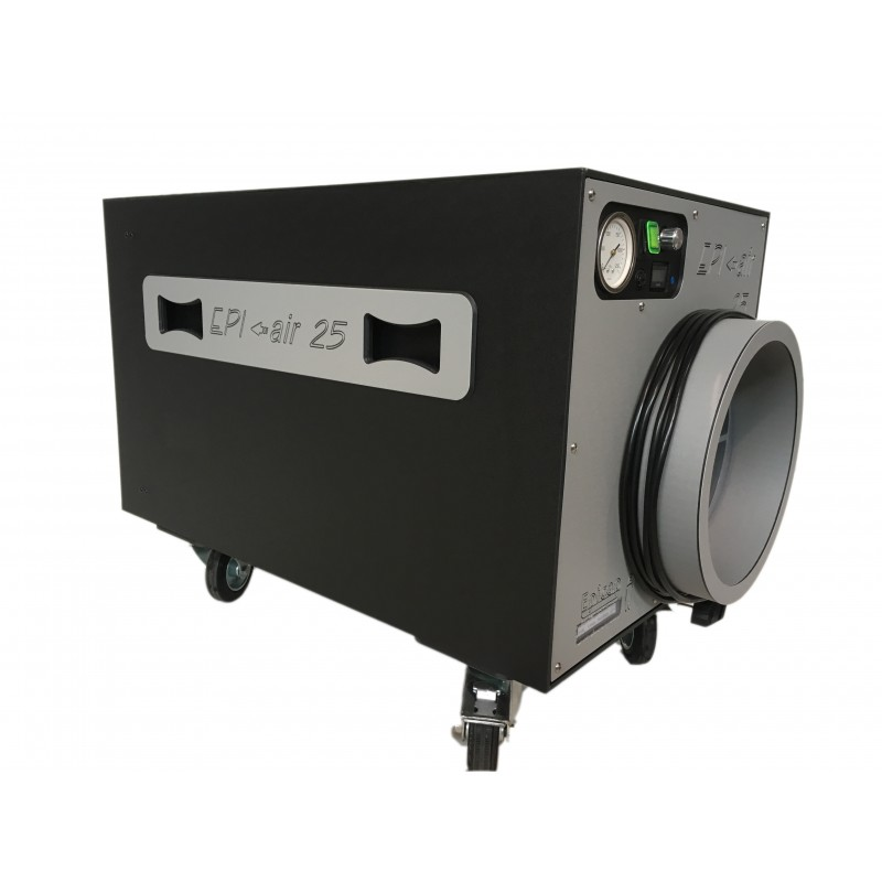 Extracteur d air a filtration the epi air 25 pour le for Extracteur d air hygroreglable