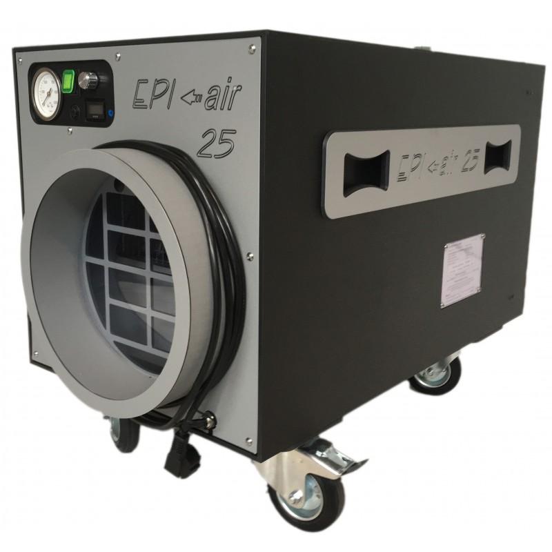 extracteur d air a filtration the epi air 25 pour le d samiantage. Black Bedroom Furniture Sets. Home Design Ideas