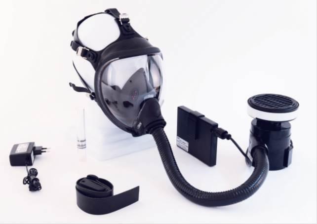 Nouveau KASCO KIT T5 à filtration ventilée avec masque ZENITH